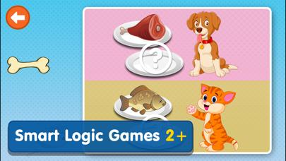 Smart Logic Games for Toddlers iPhone Screenshot