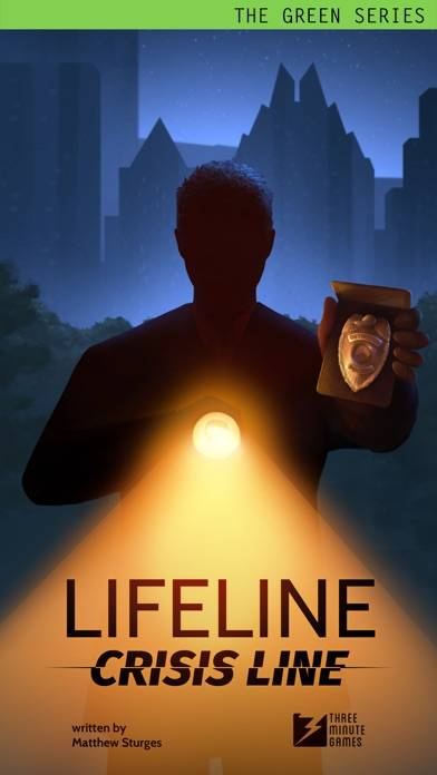 Lifeline: Crisis Line iPhone Screenshot