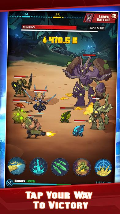 Battleborn Tap iPhone Screenshot
