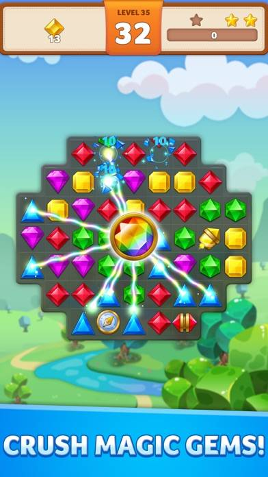 Jewel Match King iPhone Screenshot