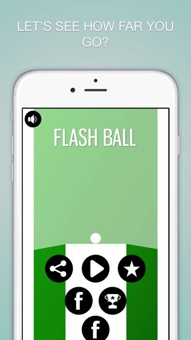 Flash Ball iPhone Screenshot
