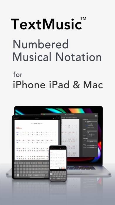 TextMusic screenshot 1