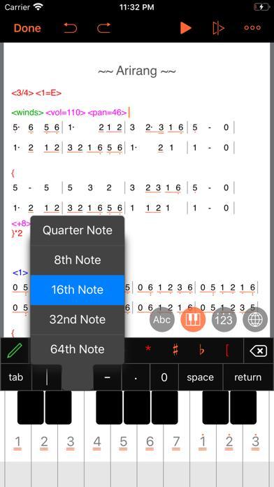 TextMusic screenshot 4