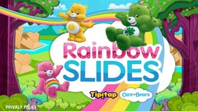Rainbow Slides: Care Bears! iPhone Screenshot