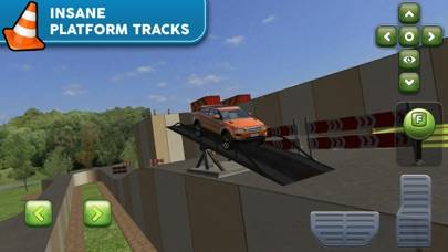 Obstacle Course Extreme Car Parking Simulator iPhone Screenshot