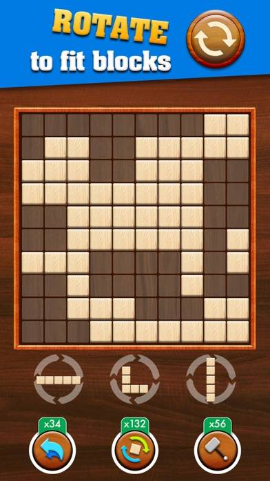 Wooden Block Puzzle Extreme iPhone Screenshot