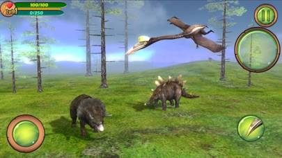 Pterosaur Flight Simulator 3D iPhone Screenshot