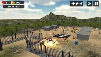 Jurassic Dino Defense 3D iOS