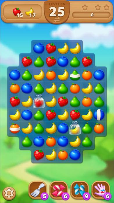 Fruits Mania : Elly's travel iPhone Screenshot