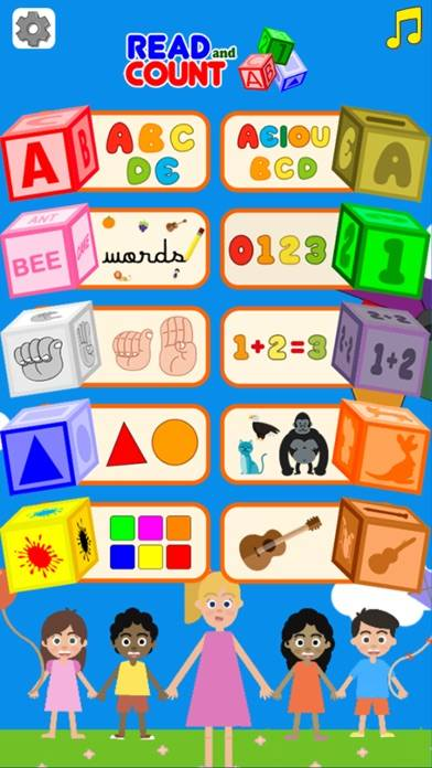 Read and Count [Ad Free] iPhone Screenshot
