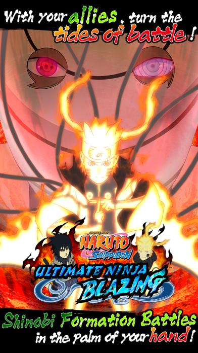 NARUTO SHIPPUDEN: Ultimate Ninja Blazing iPhone Screenshot