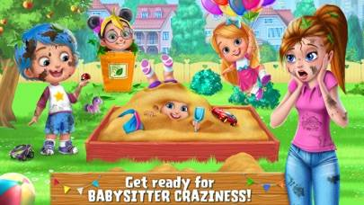 Babysitter Mania - Fun Kids Game