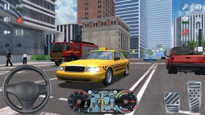 Taxi Sim 2016 iPhone Screenshot
