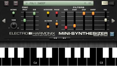 Mini Synthesizer for iPhone screenshot 1