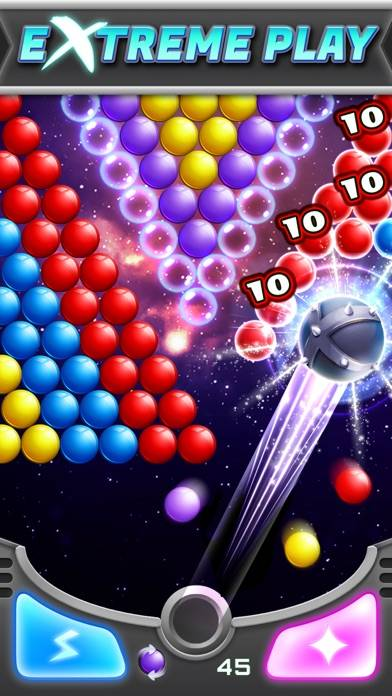 Bubble Shooter! Extreme iPhone Screenshot