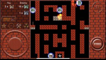 Super Tank Battle R iPhone Screenshot