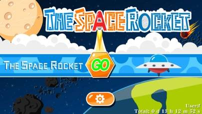 The Space Rocket iPhone Screenshot