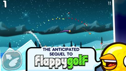 Flappy Golf 2 iPhone Screenshot