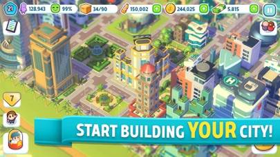 City Mania: Town Building Game iOS