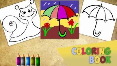 Coloring book for litle baby HD iPhone Screenshot