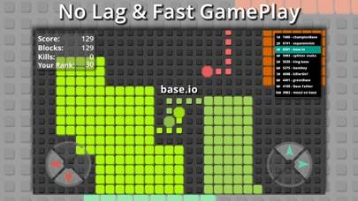 splix.io snake iPhone Screenshot