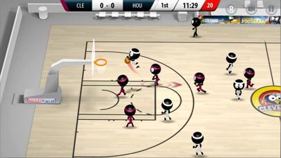 Stickman Basketball 2017 screenshot 1