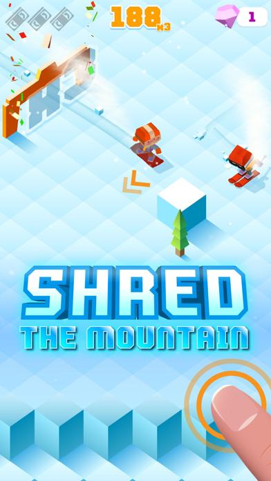 Blocky Snowboarding  Endless Arcade Runner Game