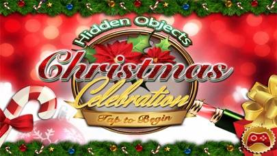 Christmas Celebration Hidden Object Puzzle Games iPhone Screenshot