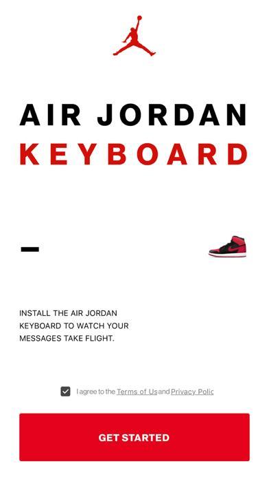 Jordan Keyboard screenshot 1