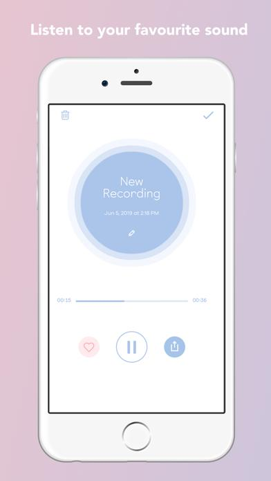 Shell - Baby's First Heartbeat Listener screenshot 1