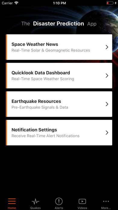 Disaster Prediction App screenshot 1