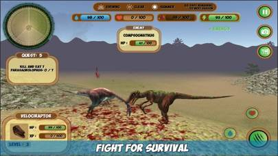 Velociraptor Simulator Game
