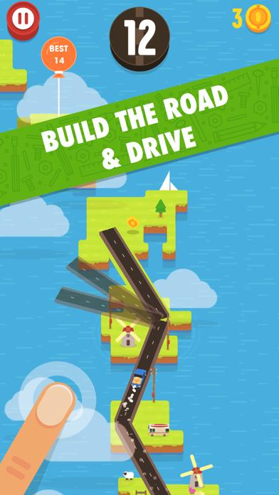 Hardway - Endless Road Builder iOS