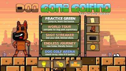 DOG GONE GOLFING Game