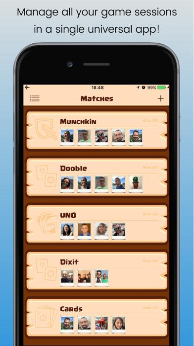 ScoreCard for everyone iOS