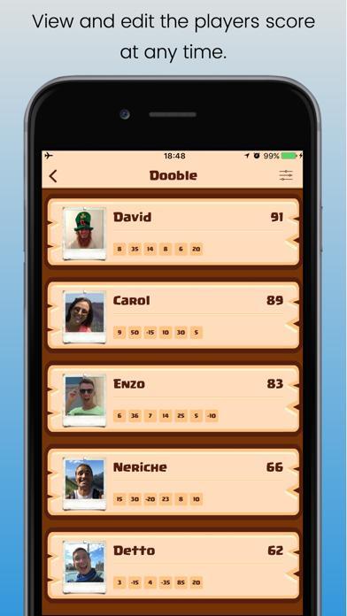 ScoreCard for everyone screenshot 2