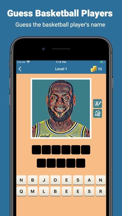 Who he play for BBall Quiz Game