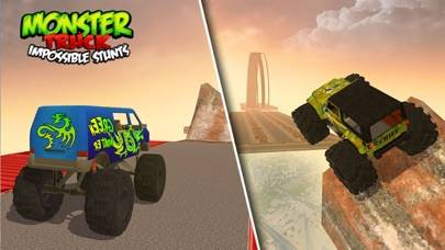 Monster Truck Impossible Stunts iOS