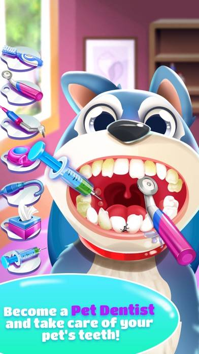 Pet Dentist Doctor Game! iOS