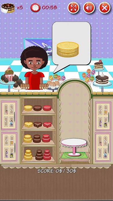 Bakery Cake Maker Shop iOS