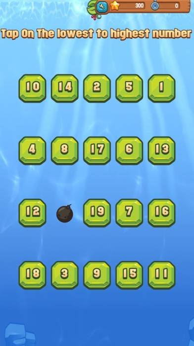 Paradise Game Numerical Touch iOS