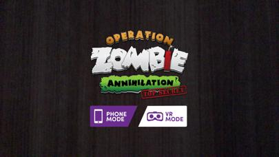 Operation Zombie Annihilation for Merge Cube iOS