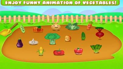 Learn Vegetable Names Game