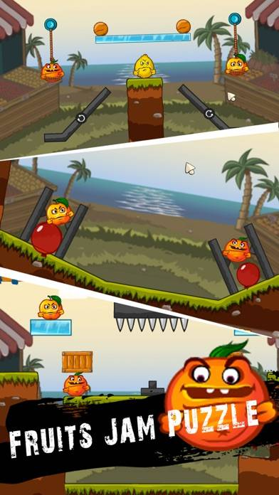 Fruits Jam Puzzle  Drop Game