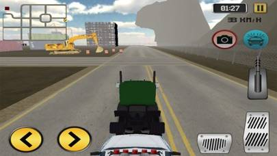 Highway Police Truck Driving iOS
