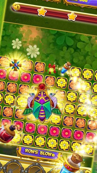 Magic Blast Flowers Match iOS