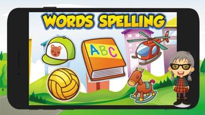 First Words Spelling Flashcard iOS