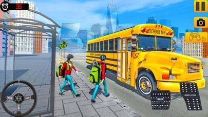 City School Bus Drive Fun iOS