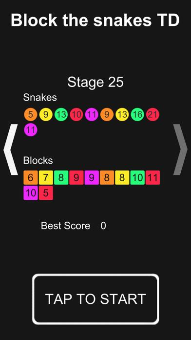 Block the snakes TD iOS