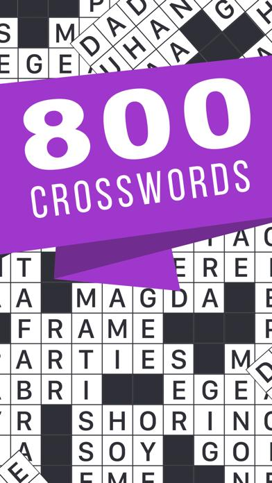 Free Time Crossword Game iOS
